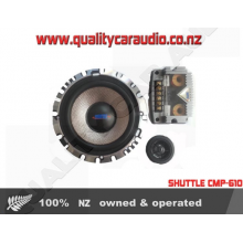 SHUTTLE CMP-610 6inch 400W Component Speakers - Easy LayBy