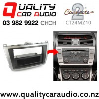 Connect2 CT24MZ10 Facia Kit for 2008 to 2011 Mazda 6 (for single din stereo only