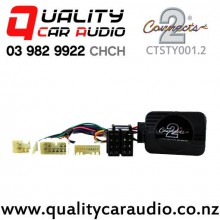 Connects2 CTSTY001.2 Adapter for Toyota Steering Wheel Control 2004 to 2011 with Easy Finance