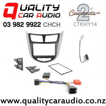 Connects2 CTKHY14 Stereo Facial Kit for Hyundai Verna Solaris from 2011 with Easy Payments