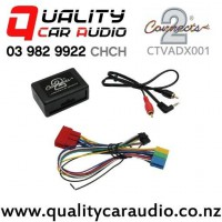 Connects2 CTVADX001 Aux Adapter for Audi from 1997 to 2006 with Easy Finance