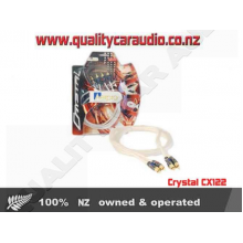 Crystal CX122 RCA LEAD 2 MALE - 2 MALE 1.2M - Easy LayBy