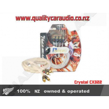 Crystal CX322 RCA LEAD 2 MALE - 2 MALE 3M - Easy LayBy