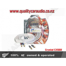 Crystal CX522 RCA LEAD 2 MALE - 2 MALE 5M - Easy LayBy