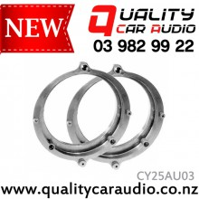 CY25AU03 130mm Audi A4 Front Door Speaker Spacer - Easy LayBy