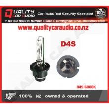 D4S 6000K (Metal clip) HID Bulb (each) - Easy LayBy