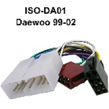 DAEWOO TO ISO WIRING Adaptor (1999-2002)