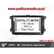 DFPK-17-30/PB VW Skoda D Din Kit Piano Black - Easy LayBy