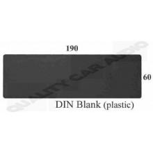 DIN BLANK (Plastic)