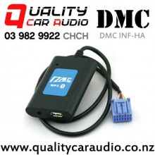 DMC INF-HA Universal Bluetooth  USB AUX Interface for Honda (Blue plug) with Easy Finance