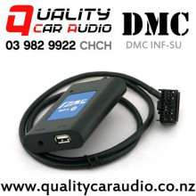 DMC INF-SU Universal Bluetooth USB AUX Interface for Subaru with Easy LayBy