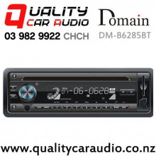 Domain DM-B6285BT Bluetooth USB AUX SD CD NZ Tuner 1x Pre Outs Car Stereo with Easy Finance