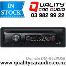 Domain DM-B629USB CD MP3 WMA USB SD NZ Tuners 1x Pre Out with Easy Layby