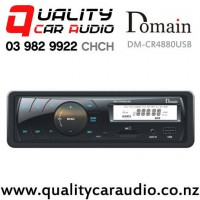 Domain DM-CR4880USB USB SD-Card AUX Mechless Car Stereo Fitted From $119 with Easy Finance