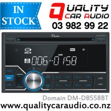 Domain DM-DB558BT Bluetooth CD USB AUX NZ Tuners 1x Pre Out Car Stereo with Easy Layby
