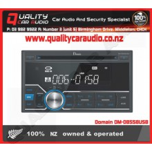 Domain DM-DB558USB CD USB AUX NZ Tuners 1x Pre Out with Easy Layby