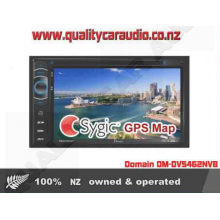 "Domain DM-DV5462NVI 6.2"" NAVIGATION BLUETOOTH DVD USB SD NZ TUNERS with Sygic map"