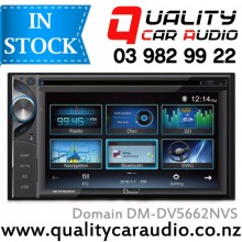 "Domain DM-DV5662NVS 6.2"" Navigation (incl Sygic Map) Bluetooth DVD USB AV in Nz Stations with Easy Layby"