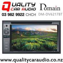 "Domain DM-DV6217BT 6.2"" Bluetooth DVD CD MP3 USB SD NZ Tuners Car Stereo with Easy Finance"