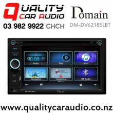 Domain DM-DV6218SLBT Bluetooth Smartphone Support DVD USB SD Car Stereo with Easy Finance