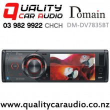 Domain DM-DV7835BT Bluetooth DVD CD MP3 USB SD NZ Tuners Car Stereo with Easy Payments