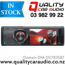 Domain DM-DV7835BT Bluetooth DVD CD MP3 USB SD NZ Tuners with Easy Layby