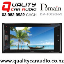 Domain DM-TO990NVI Navigation (map not incl) Bluetooth USB SD DVD 2x Pre Outs Car Stereo with Easy Finance
