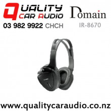 Domain IR-8670 1 Channel In-Car Infrared Wireless Stereo Headphone with Easy Finance