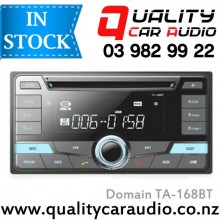 Domain TA-168BT for Toyota with 200mm facia Bluetooth CD USB AUX NZ Tuners with Easy Layby