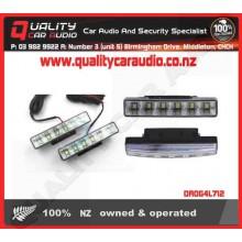 G4-712 Car Universal LED Daytime Running Light - Easy LayBy
