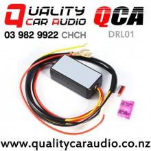 QCA-DRL 01 Daytime Running Light Relay Harness Dimmer On/Off 12-18V Fog Light Controller with Easy Finance