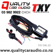 TXY DRL 02 LED Daytime Light Auto ON/OFF Controller With Flash Reduce Light And Synchronous Steering Function