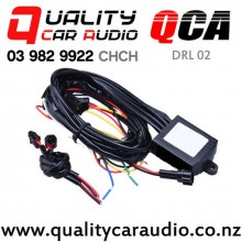 QCA-DRL 02 LED Daytime Light Auto ON/OFF Controller With Flash Reduce Light And Synchronous Steering Function wtih Easy Finance
