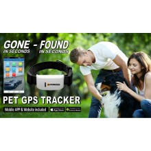 Mongoose PT800 PET TRACKER WITH FREE APP & WEBSITE with Easy Payments