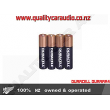 DURACELL DURAAA4 Triple 'A' Four Pack - Easy LayBy
