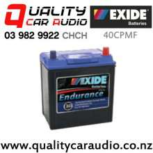 Exide 40CPMF Car Battery Endurance with Easy Finance