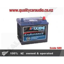 Exide 52D Car Battery Endurance - Easy LayBy