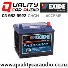 Exide 60CPMF Endurance Car Battery with Easy Finance