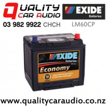 Exide LM60CP Low Maintenance 12v Car Battery with Easy Finance