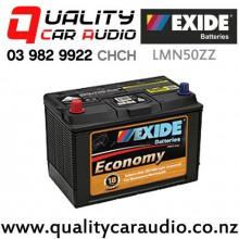 Exide LMN50ZZ Economy Car Battery with Easy Finance