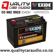Exide LMN50ZZL Economy Car Battery with Easy Finance