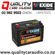Exide LMN70ZZ Low Maintenance Economy Car Battery with Easy Finance