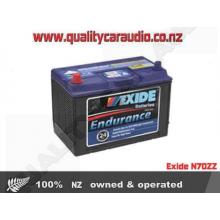 Exide N70ZZ Endurance Light Commercial Battery - Easy LayBy