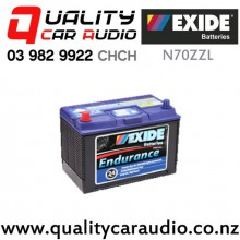 Exide N70ZZL Endurance Light Commercial Battery with Easy Finance