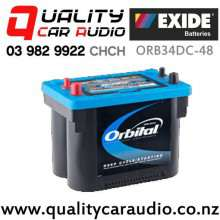Exide ORB34DC-48 Orbital Sealed Deep Cycle and Starting 12 Volts with Easy Finance