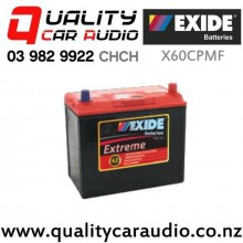 Exide X60CPMF 12v Extreme Maintenance Free Battery with Easy Finance