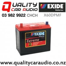 Exide X60DPMF 12V Extreme Car Battery with Easy Finance
