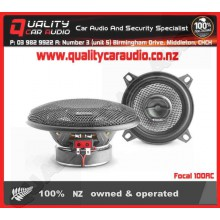 "Focal 100AC 4"" (10cm) 80W 2 Ways Coaxial Car Speakers (Pair) with Easy Layby"