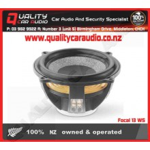 """Focal 13 WS Shallow-mount 5"""" 150W 4 ohm subwoofer - Easy LayBy"""