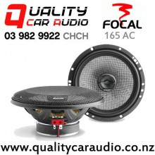 """Focal 165AC 6.75"""" 120W (60W RMS) 2 Way Coaxial Car Speakers (pair) with Easy Finance"""